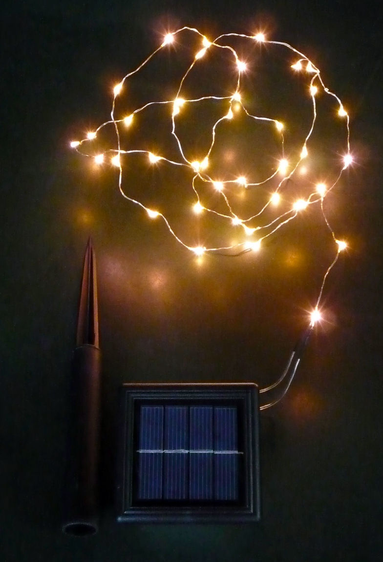 Solar Copper Wire Lights Sls C