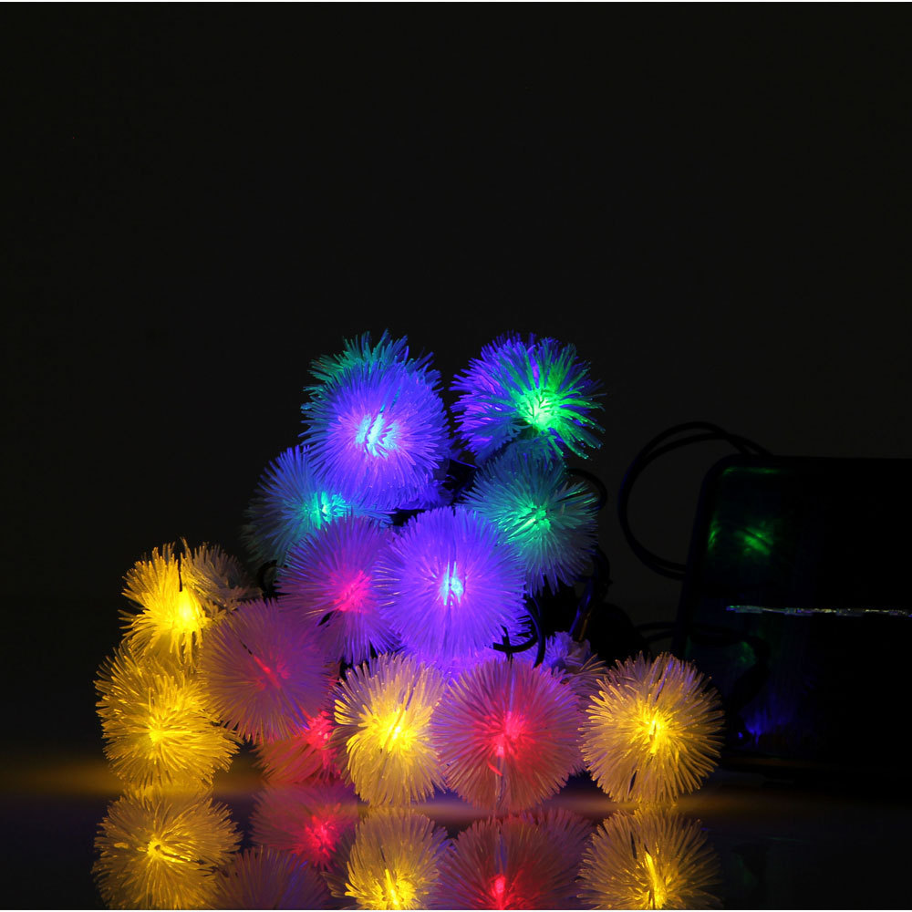 Solar Edelweiss string lights