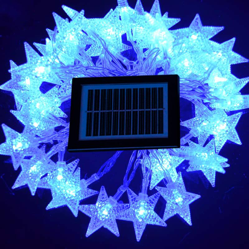 Solar Christmas Star Lights Australia